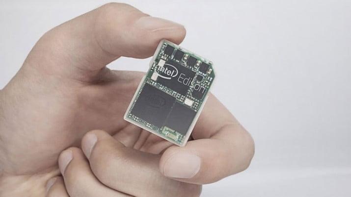 Intel Edison, una computadora del tamaño de una tarjeta SD