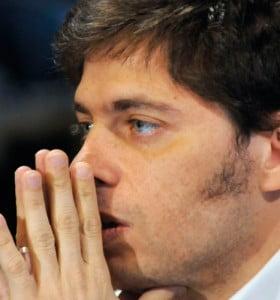 """Kicillof: """"Hubo movimientos muy fuertes para desestabilizar la economía"""""""