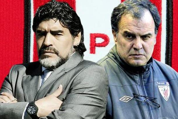 Maradona y Bielsa son candidatos a dirigir al seleccionado de Perú