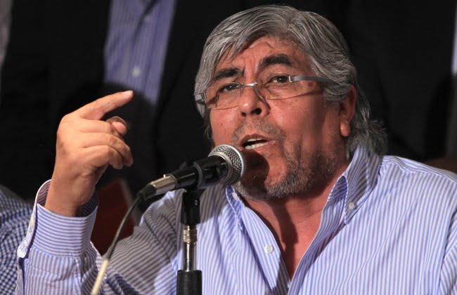 """Moyano: la ausencia de Scioli y Massa """"No modifica lo que resolveremos"""""""
