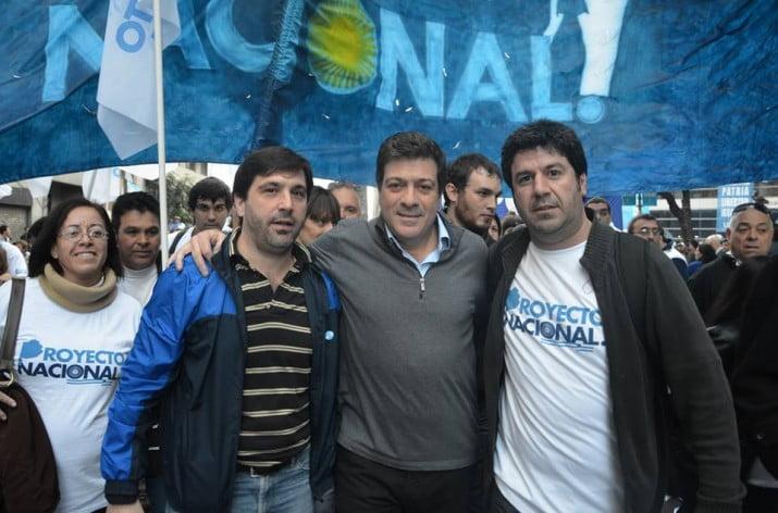 Palomo respalda una posible candidatura de Mariotto a gobernador 2015