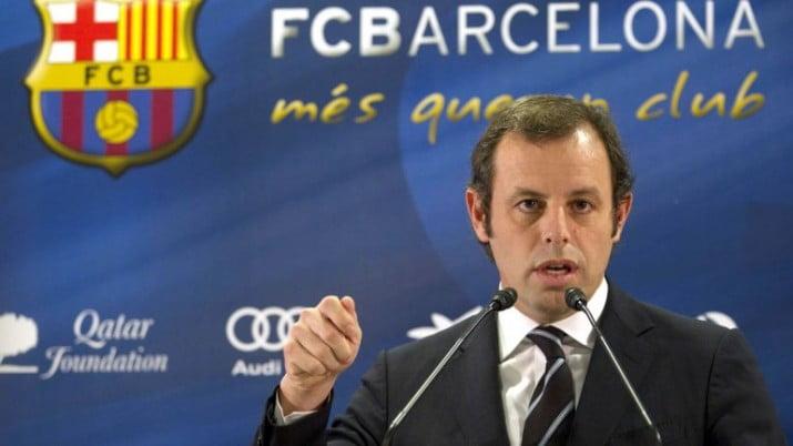 Renunció el presidente del Barça por el escándalo del pase de Neymar