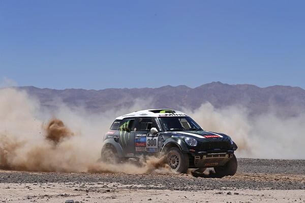 Peterhansel ganó el primer test en el desierto de Atacama