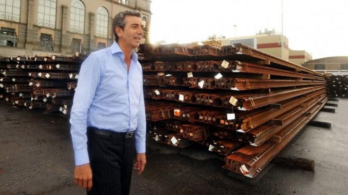 Llegaron rieles para renovar los ramales a Rosario y Mar del Plata
