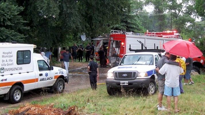 Dos heridos tras la caída de otro rayo en Villa Gesell