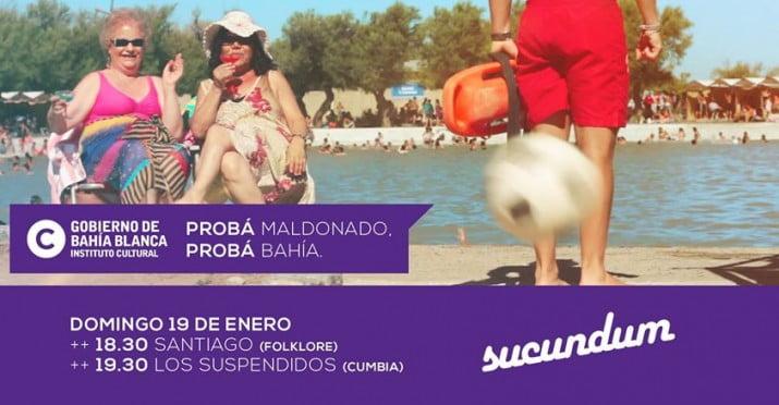 Sucundum: cumbia y folklore en el Complejo Recreativo Maldonado