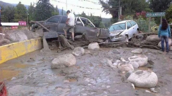 Temporal en Catamarca: 5 muertos y desaparecidos