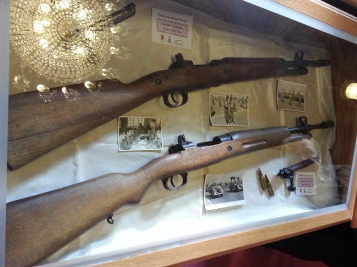 El Renar infomó que no se podrán exhibir armas en las vidrieras