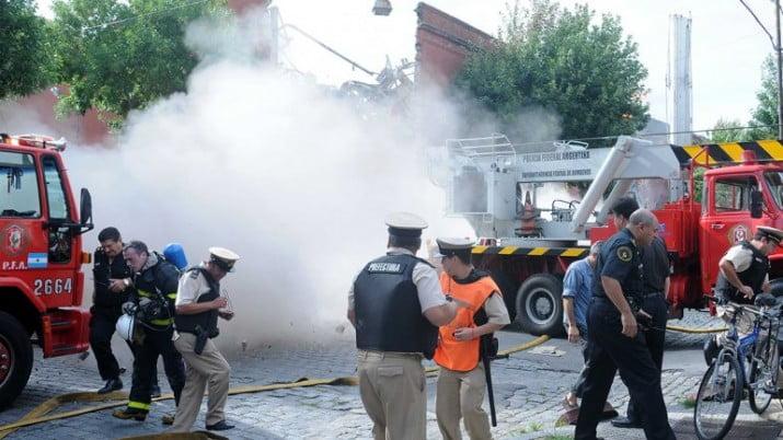Trágico incendio en Barracas: hay 7 muertos