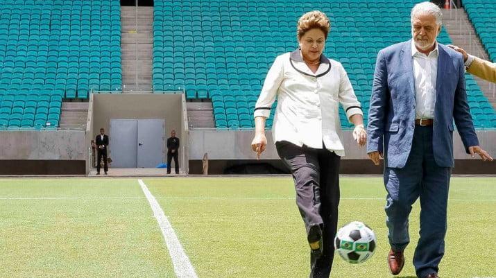 Rousseff hará campaña por el Mundial