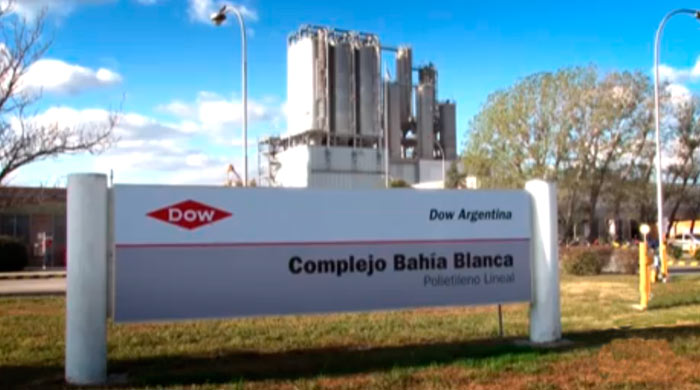 El CTE infraccionó a Dow Argentina por emisión de humos negros