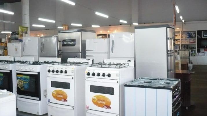 Las casas de electrodomésticos suspenden las ventas en 12 cuotas sin interés