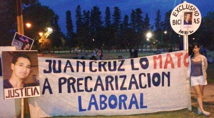 Solicitan información de la causa por la muerte de Juan Cruz Manfredini