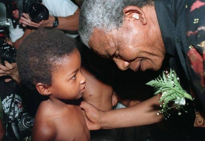 Quiénes son los herederos de Nelson Mandela