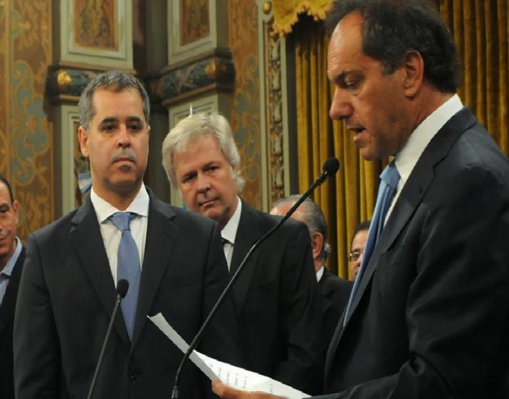Juraron los nuevos ministros del gabinete de Scioli