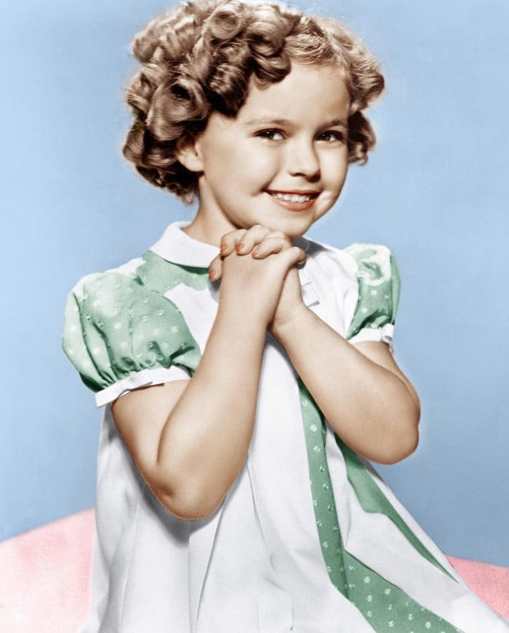 """A los 85 años murió Shirley Temple, la """"niña prodigio"""" de Hollywood"""