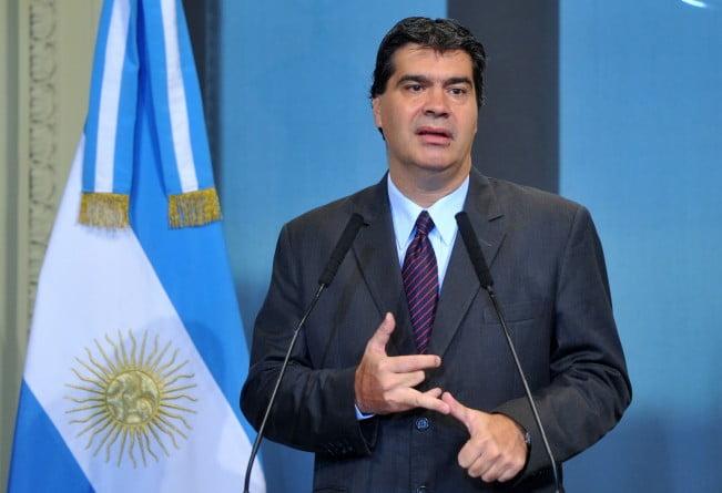 """Capitanich acusó a sindicalistas de hacer un """"paro político"""" y apuntó a Massa"""