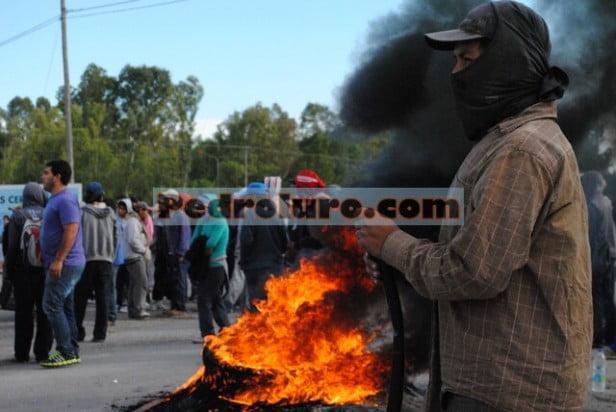Continúan los cortes en los accesos a Pedro Luro y Mayor Buratovich