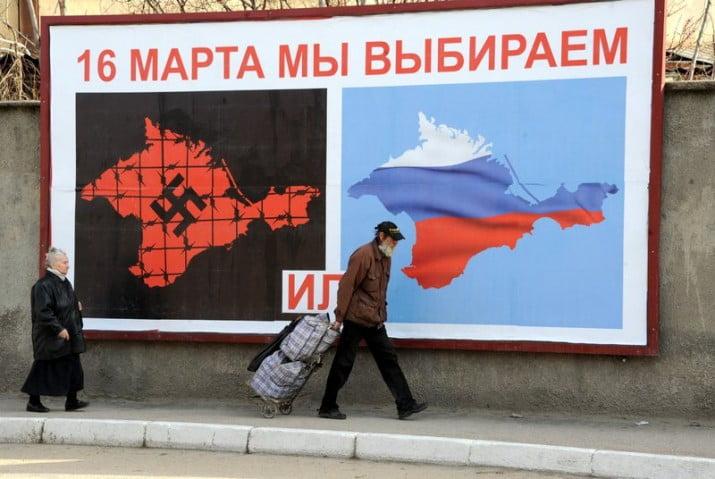 Crimea declaró la independencia y pidió la anexión con Rusia