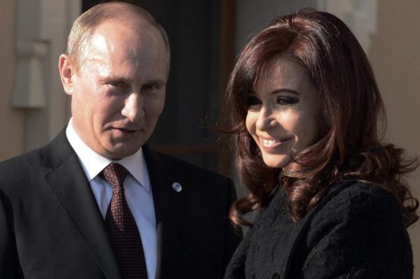 """""""Putin reconoció la postura argentina sobre la cuestión de Crimea"""""""