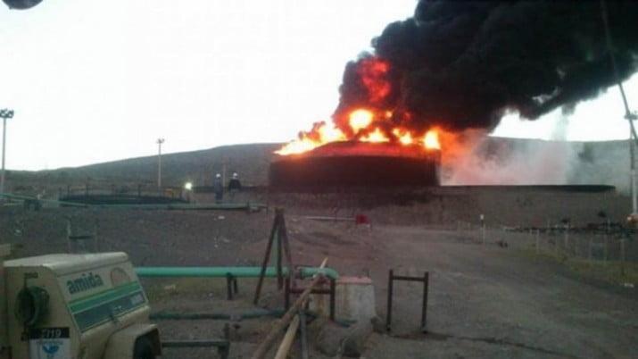 Mendoza: confirman destrucción total de la planta de YPF