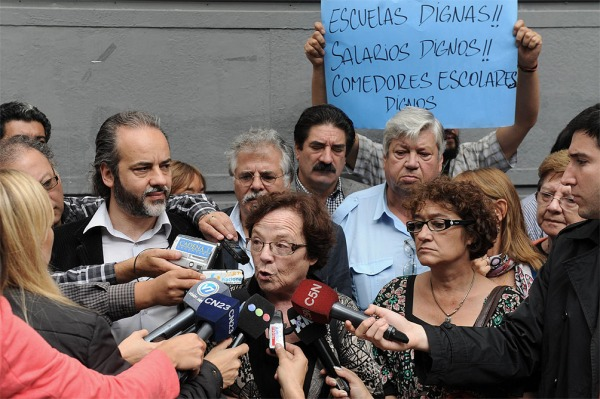 La paritaria nacional docente pasó hoy a un cuarto intermedio