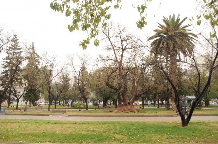 Adolescente de 16 años apuñalado en Plaza Rivadavia