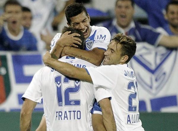 Vélez se clasificó a los octavos de final de la Libertadores