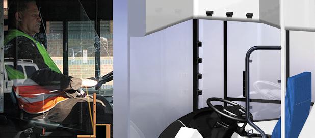 """Proponen cabinas """"antivandálicas"""" para conductores de micros"""