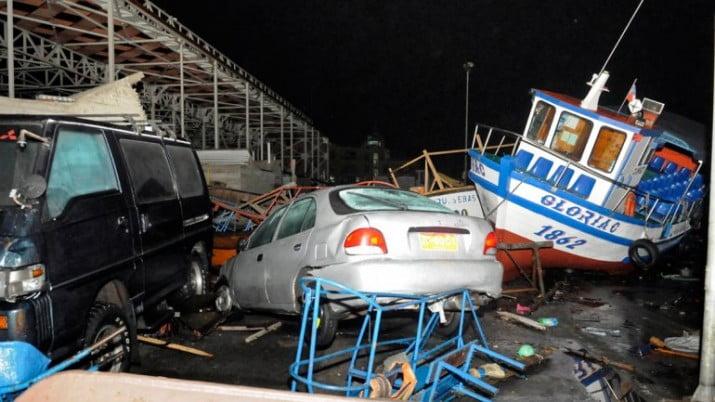 Bachelet decretó zona de catástrofe a regiones afectadas por el sismo