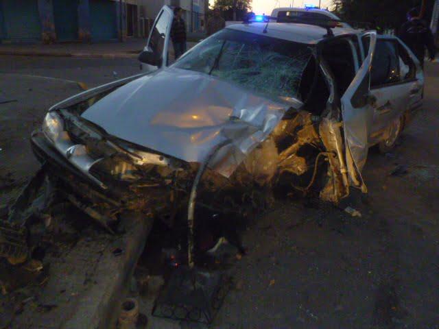 Dos heridos tras choque en Arias y Tarapacá
