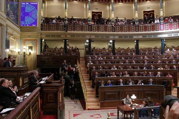 Congreso español puso un freno a la idea secesionista  de Cataluña