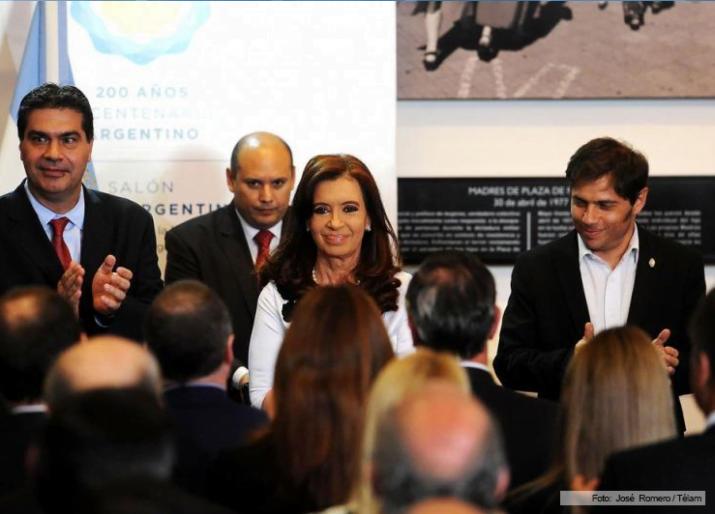 Cristina anunció un proyecto de eximición del impuesto para el biodiesel