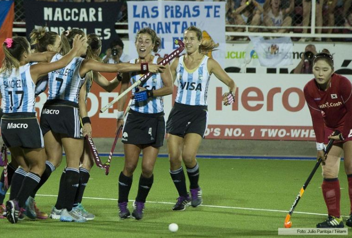 Argentina venció a China, logró su cuarto triunfo seguido, y pasó a la final