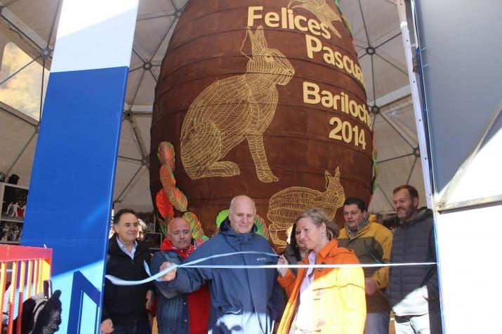 Repartieron entre 70 mil personas el huevo de Pascua más grande del mundo