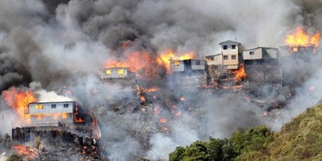 Incendio en Chile: sospechan intencionalidad y son 14 los muertos