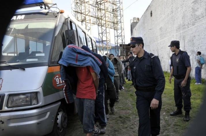Megaoperativo en Provincia: más de cien detenidos y 85 armas incautadas