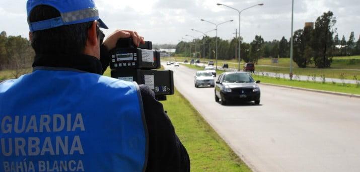 Radares: rigen las multas en los controles