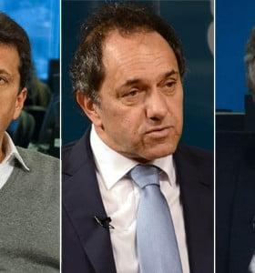 Scioli, Massa y Macri coincidieron en pedir que el Gobierno negocie con los holdouts