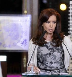 Cristina encabeza un acto por los 40 años de la muerte de Perón