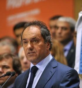 """Scioli: """"El electorado se va a volcar por alguien de confianza"""" en 2015"""