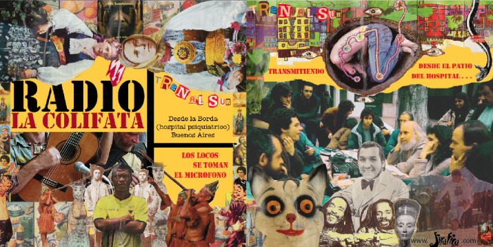 Radio La Colifata cumplió 23 años y el Borda fue una fiesta