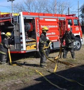Por ley, suben en un 55% el presupuesto destinado a los bomberos voluntarios