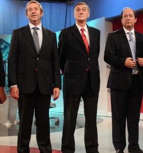 Presidenciables del FAU advirtieron por la economía y la inseguridad