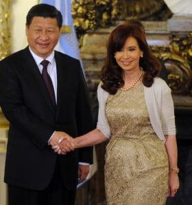 Chino confirmó su apoyo a la posición argentina sobre reestructuración