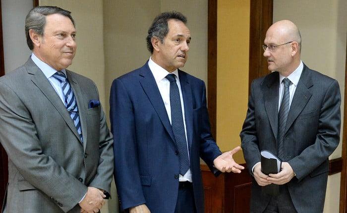 Scioli firmó la ley de autarquía para el Poder Judicial
