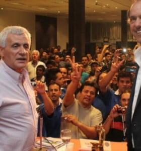 La UOM ya eligió: Caló respaldó la candidatura de Scioli