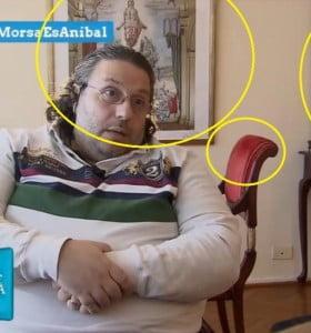 la entrevista a Salerno del informe de Lanata se hizo en la casa de Carrió