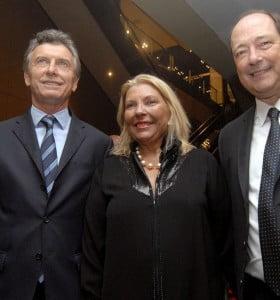 Macri reveló los cargos de Carrió y Sanz en su eventual gabinete