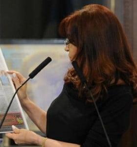 El Hospital de niños de La Plata recibió la donación de Cristina